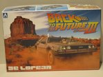 Back to the future Part III & Railroad Ver. Delorean