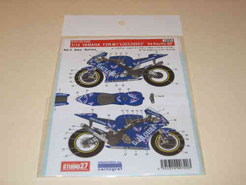 Yamaha YZR-M1 Pacific GP 2003 Full Option Decal