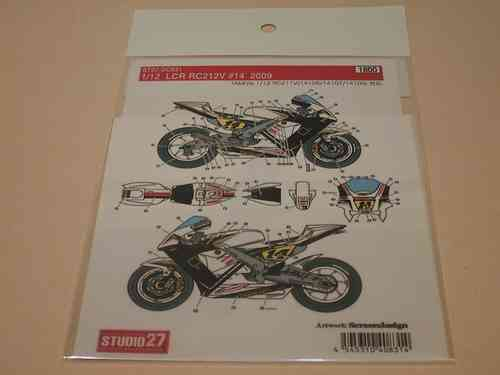 LCR Honda RC212V MotoGP '09 Decal