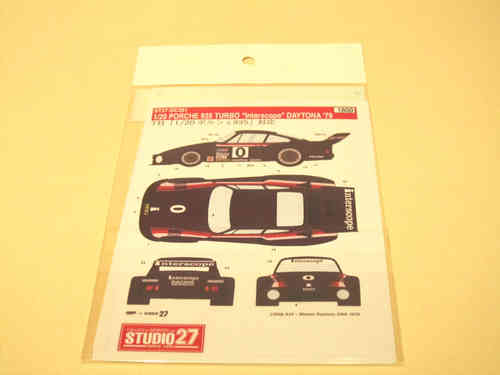 Decal Set für Interscope Porsche 935 Daytona '79