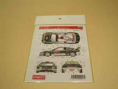 Stobart Ford Focus 2010 Decal