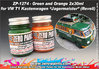 Green and Orange Paints for Revell 07076 - VW T1 Kastenwagen/Jagermeister